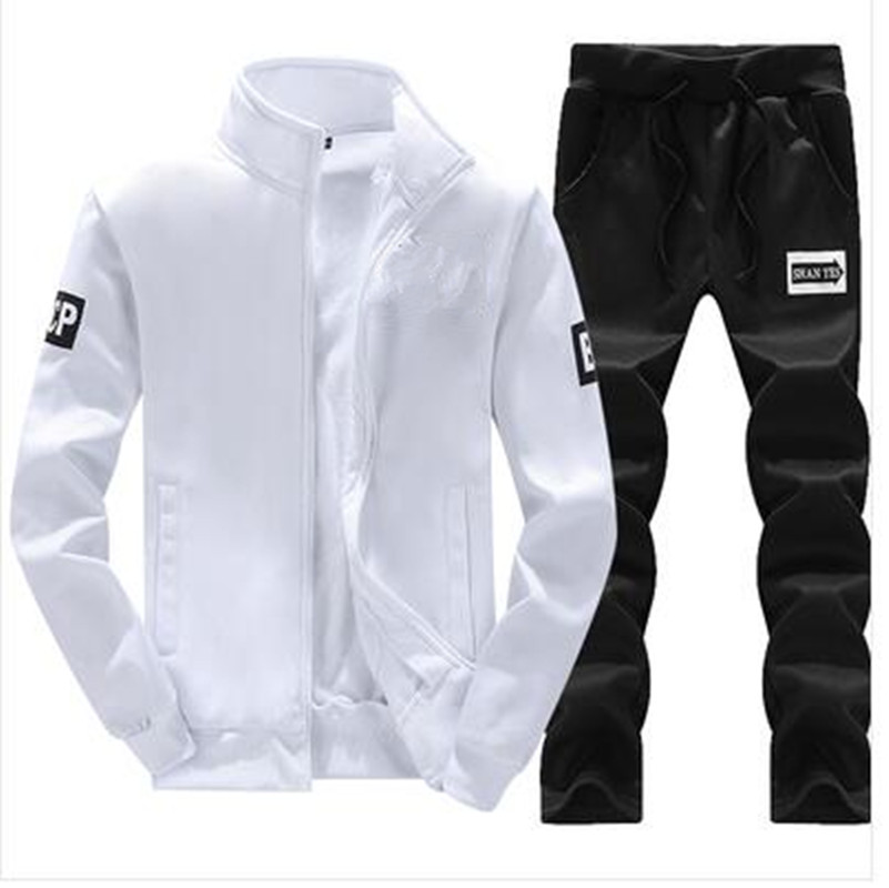 Sportswear 2019 Running Winter Autumn Tracksuit Man Men Sport Brand Tracksuits Outwear Set 2 Pieces Sportswear Sweat Suit Men