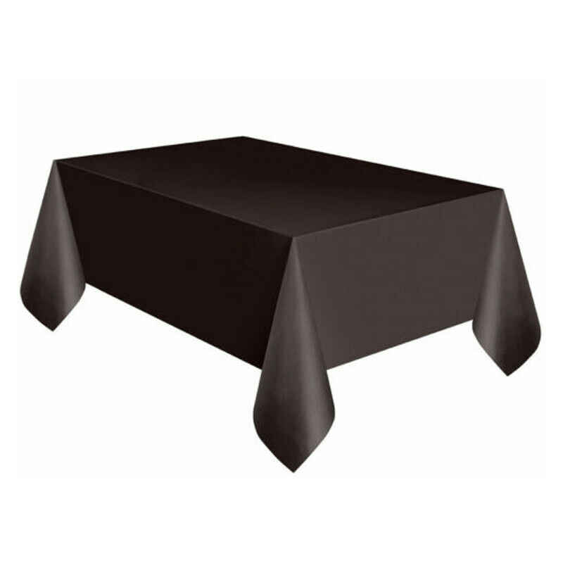 Faroot 137x182cm עמיד למים מצויד פוליאסטר מפת שולחן חתונה משתה סחר להראות Hotal מלבני שולחן כיסוי