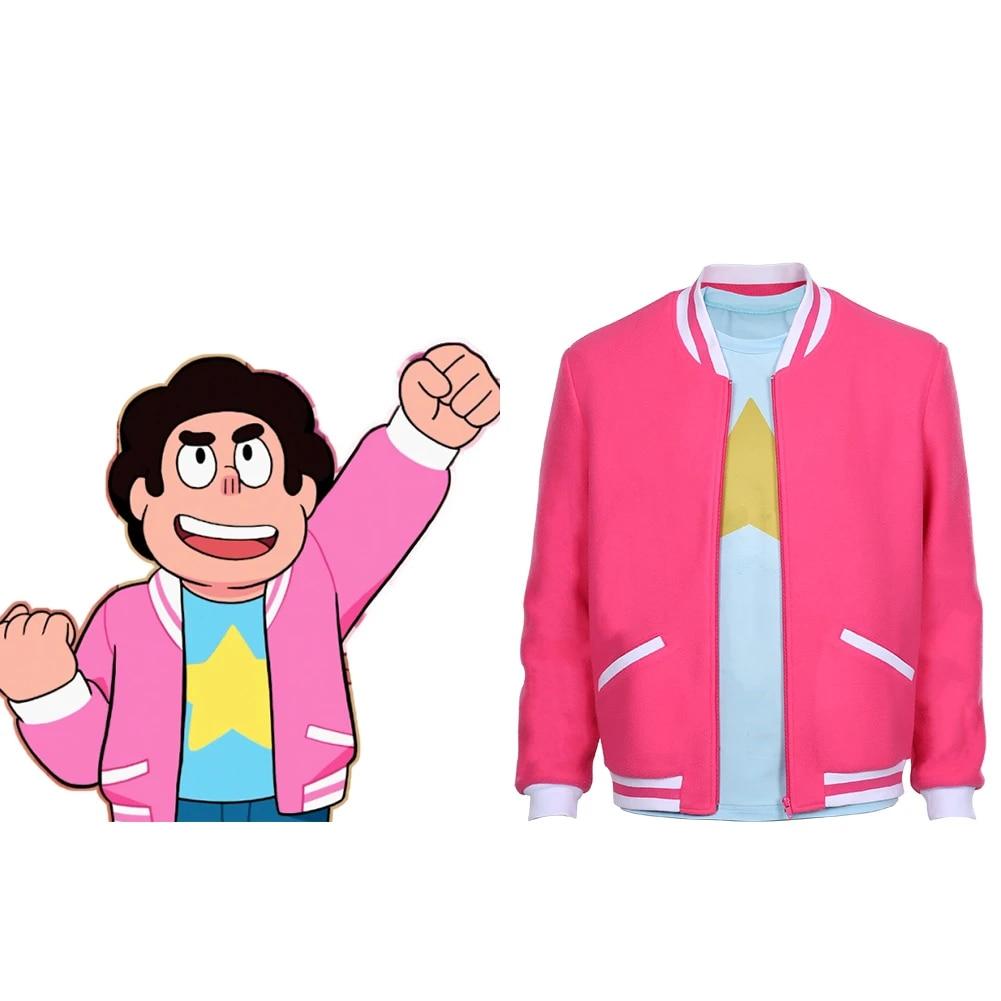 Steven Universe The Movie-Steven Universe Cosplay Costume Zip Up Coat Jacket