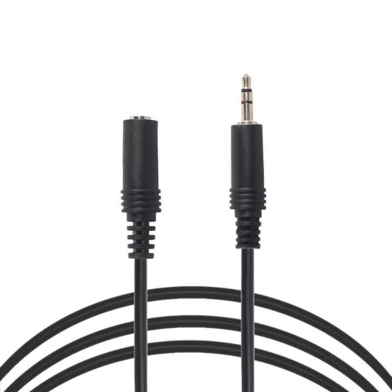 0.5 m/1 m/2 m/3 m 3.5mm haute qualité Jack mâle à femelle Extension stéréo Audio câble cordon pour haut-parleur téléphone écouteur casque