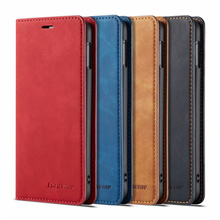 10piece/lot For Samsung Galaxy S10e Case Magnetic Phone Cover Wallet Flip Leather Stand