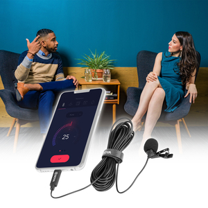 Image 4 - BOYA Omnidirectional MIC Single Head Lavalier Lapel Microphone Mic with 6 Meters Cable Compatible with USB Type C Interface