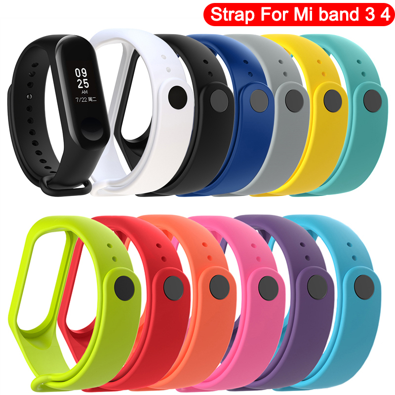 Pretty Replacement Wristband for Xiaomi Mi Band 3 strap correa mi band 4 pulseira bracelet