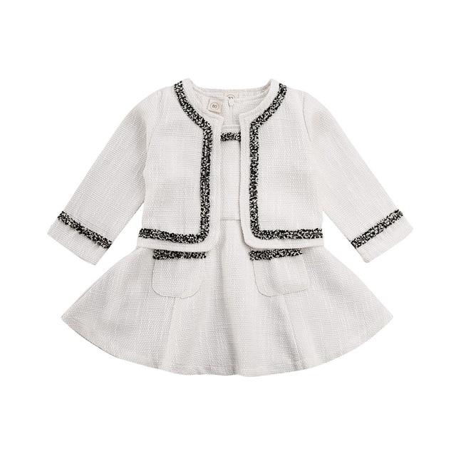 Зима 2020; комплект из 2 предметов; детская одежда принцессы для девочек элегантное клетчатое пальто с длинным рукавом для дня рождения топы + ...