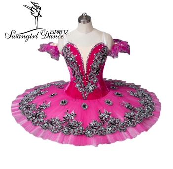 Free Shipping!Rose Red adult Ballet Tutu,Adult Ballet Stage Costumes,classical ballet tutu,professional ballet tutu BT8973 фото