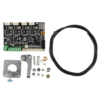 3D Printer for Creality V1.15 Mute Motherboard with Grey Extruder Upgrade Kit for Ender-3CR-10