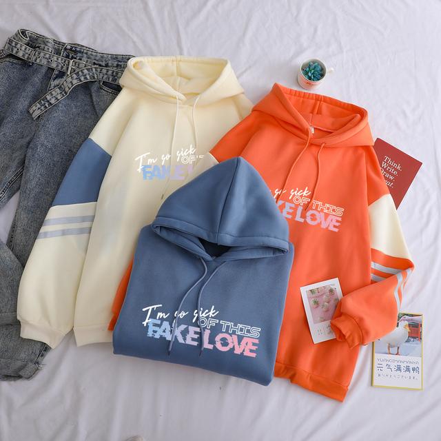 FAKE LOVE HOODIE (3 VARIAN)