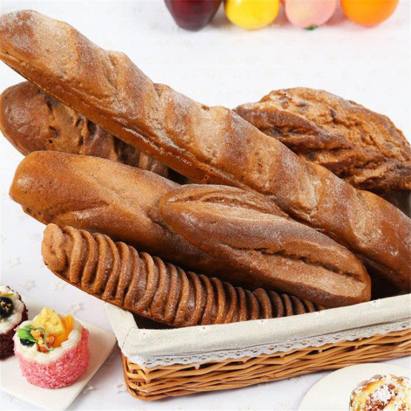 Artificialcake Fake Bread Artificial Foods Squishy Bread Festive Party Supply Simulation Bread Model photography Fake Bread Prop