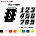 Три Ratels FD201 Прохладный Racing номерной знак наклейки высечки Стикеры для автомобиля к рулю мотоцикла велосипеда грузовик шлем для ноутбука