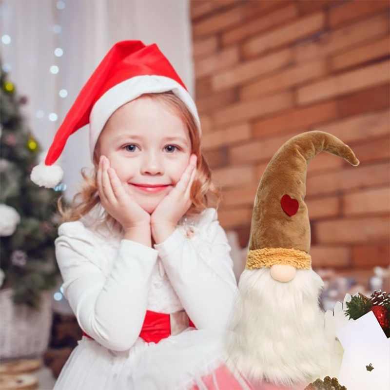 Spirito Natalizio Complementi Arredo Casa Ornamenti Nordic Lavori di Posa Spirito Decor Carino Nero Scandinavo Gnome Bambola Della Decorazione di Natale Forniture