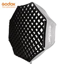 Godox przenośny 80cm 32 #8222 parasol o strukturze plastra miodu Photo Softbox reflektor do lampy błyskowej (tylko siatka o strukturze plastra miodu) tanie tanio CN (pochodzenie) 80cm Honeycomb Grid Nylon Octagon 130g