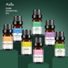 Mishiu Pure Essential Oils Aromatherapy Breathe Anxiety Stre