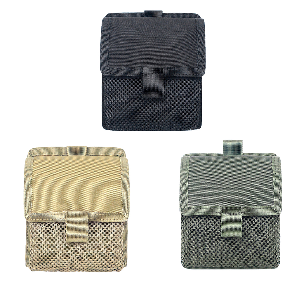 <font><b>Molle</b></font> Pouch Multi-Purpose Compact <font><b>Tactical</b></font> Waist Bags Pouches Organizer Small Utility Pouch Utility Pouch with Belt Loop image