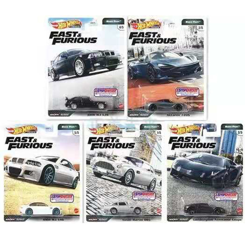 Original Hot Wheels Car Toys for Boys 1:64 Diecast Model Car Toy Hotwheels Kids Toys for Children Fast & Furious Limited Edition