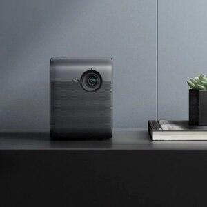 Image 5 - جهاز عرض ذكي من شاومي Fengmi DLP ثلاثي الأبعاد تلفاز فائق الدقة 1080P 550ANSI لومن M055DCN جهاز عرض يدعم 4K مسرح منزلي
