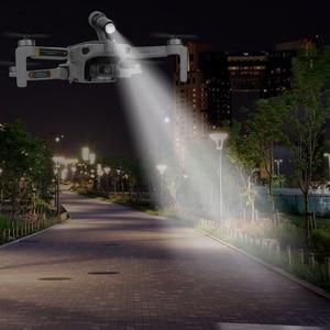 Image 1 - Drone Night Flight LED Light For DJI Mavic Mini Photography Fill light Lamp 3D Printed Flashlight Bracket mavic mini Accessories