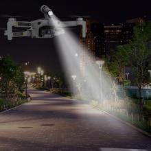 Luz LED de vuelo nocturno para Dron DJI Mavic Mini, fotografía de relleno para lámpara de luz, soporte para linterna impreso 3D, accesorios mavic mini