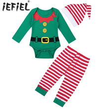 Clothes-Sets Cosplay-Costume Elves-Outfits Christmas Infant Newborn-Baby 3PCS with Party