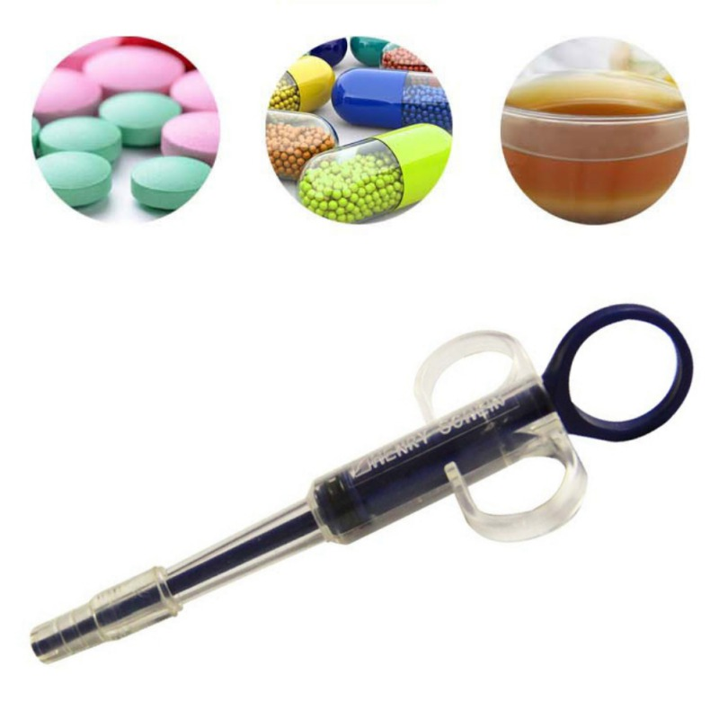 Pet Dog Cat Medicine Tablet Piller Water Supply Kit Syringe Pump To Provide Pet Feed Help Device