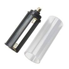 New 1PCS 18650 Battery Tube + 1PCS AAA Battery Holder for Flashlight Torch Lamp