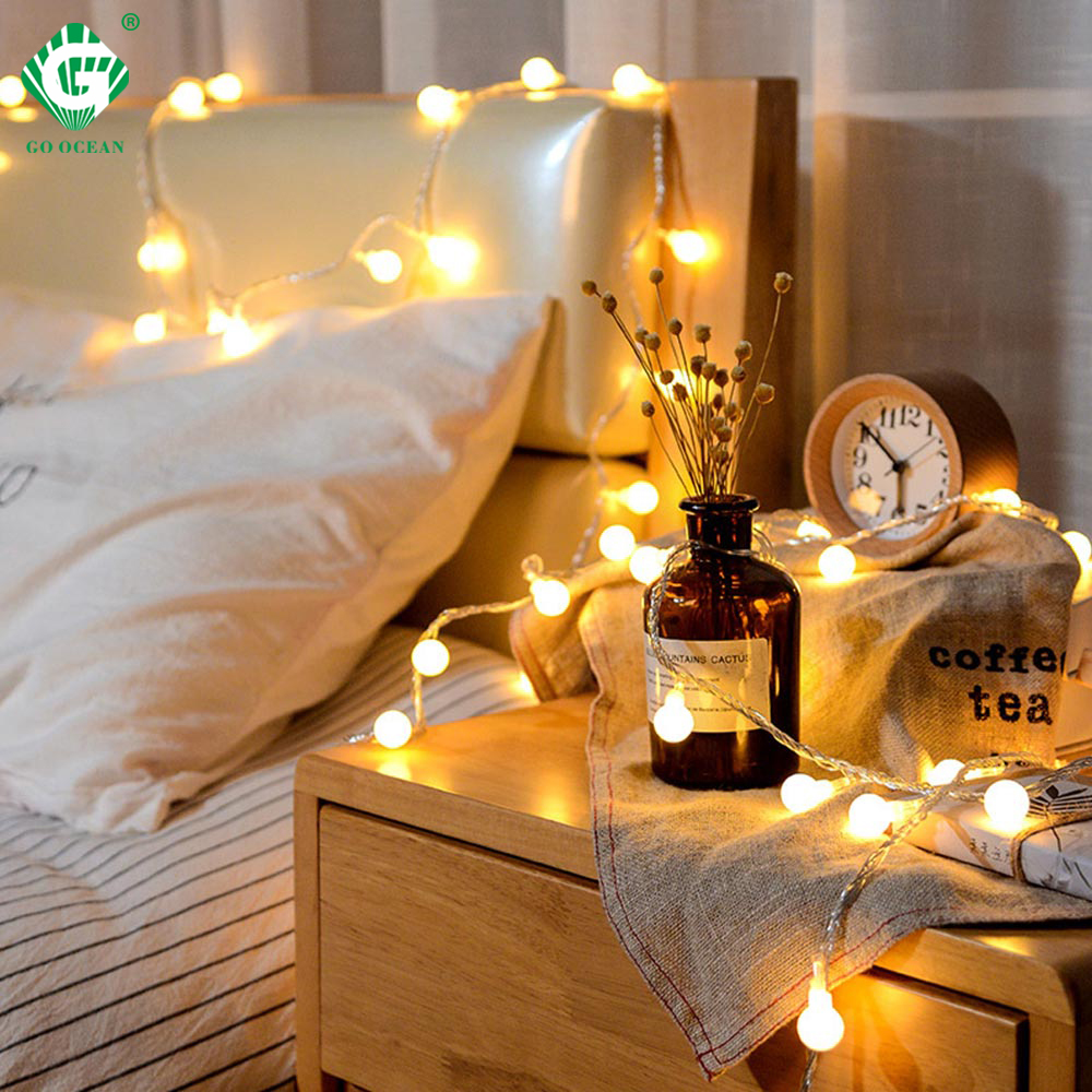 10M Mini String Light Bulb USB Battery Operated Copper Wire LED Lights Wedding Christmas Party Fairy Lighting Home Decoration