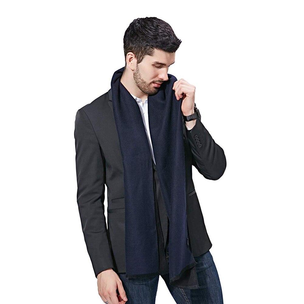 winter-cashmere-scarf-for-men-warm-wool-russian-shawl-Scarves-Warm-cotton-luxury-brand-tassel-black