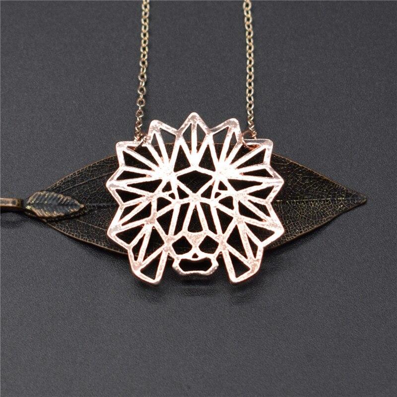 Elfin-Trendy-Origami-Lion-Head-Necklaces-Gold-Color-Silver-Color-Lion-Geometric-Jewellery-Pendant-Necklaces-Women (2)