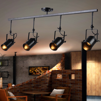 European-style retro chandeliers creative personality industrial style clothing store bar counter cafe LED spotlights YHJ122504 фото