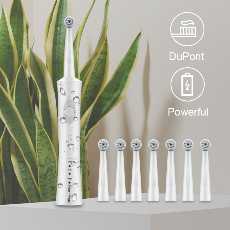 Electric Toothbrush Oral B Rotate rechargeable Vitality Tooth Brush Heads Oral Hygiene Deep Clean Inductive White Replaceable 5 image