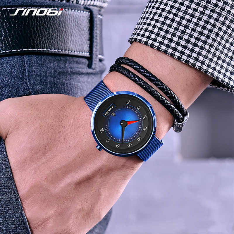 SINOBI Homens Relógio Do Painel Do Carro New Criativo Relógios Moda Esportes de Velocidade Drive Homens Calendário de Aço Inoxidável relógios de Pulso de Quartzo