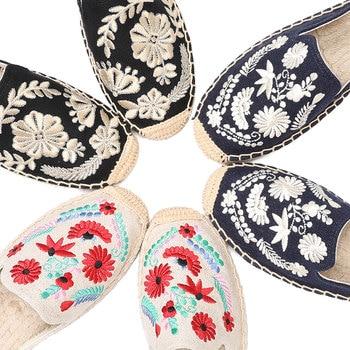 2019 Rushed New Arrival Hemp Summer Flip Flops Pantufas De Pelucia De Bichos Tienda Soludos Espadrilles Slippers For Flat Shoes  2