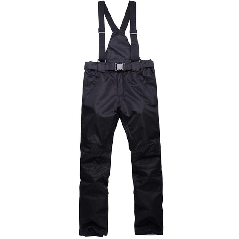 Лыжные зимние штаны, ветрозащитные теплые водонепроницаемые брюки для мужчин и женщин ASD88