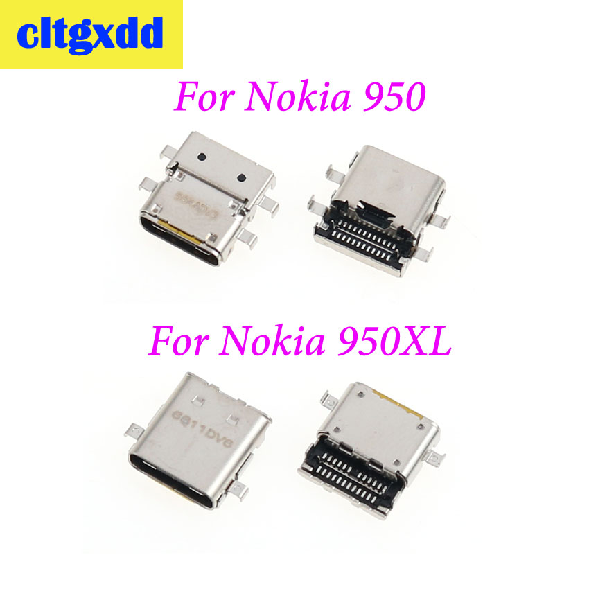cltgxdd 1pc For Nokia Lumia 950 950XL Charge Charging Port Dock Connector Charging Socket Connector USB Jack image
