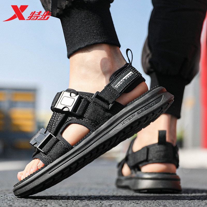 Xtep Sports Outdoor Sandals And Slippers Sandals In Spring And Summer Comfortable Casual Beach Shoes 880219500088
