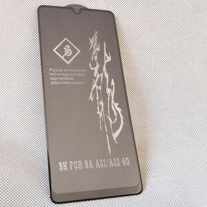 Image 2 - Protecteur décran pour Samsung Galaxy A32, verre trempé, oléophobe, colle complète