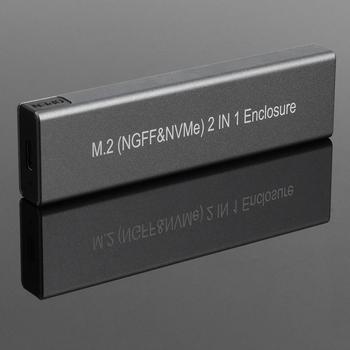 Чехол для M2 SSD, футляр NVME M.2 на USB Type C 3,1, адаптер SSD для Dual NVME PCIE NGFF SATA M/B, чехол для ключа 2230/2242/2260/2280 SSD|Корпус жесткого диска|   | АлиЭкспресс