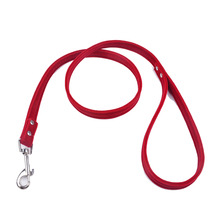 Pet Lead Leash For Puppy Dogs Cats Red Pink Black Brown Velvet Leather Dog Outdoor Security Training Collars