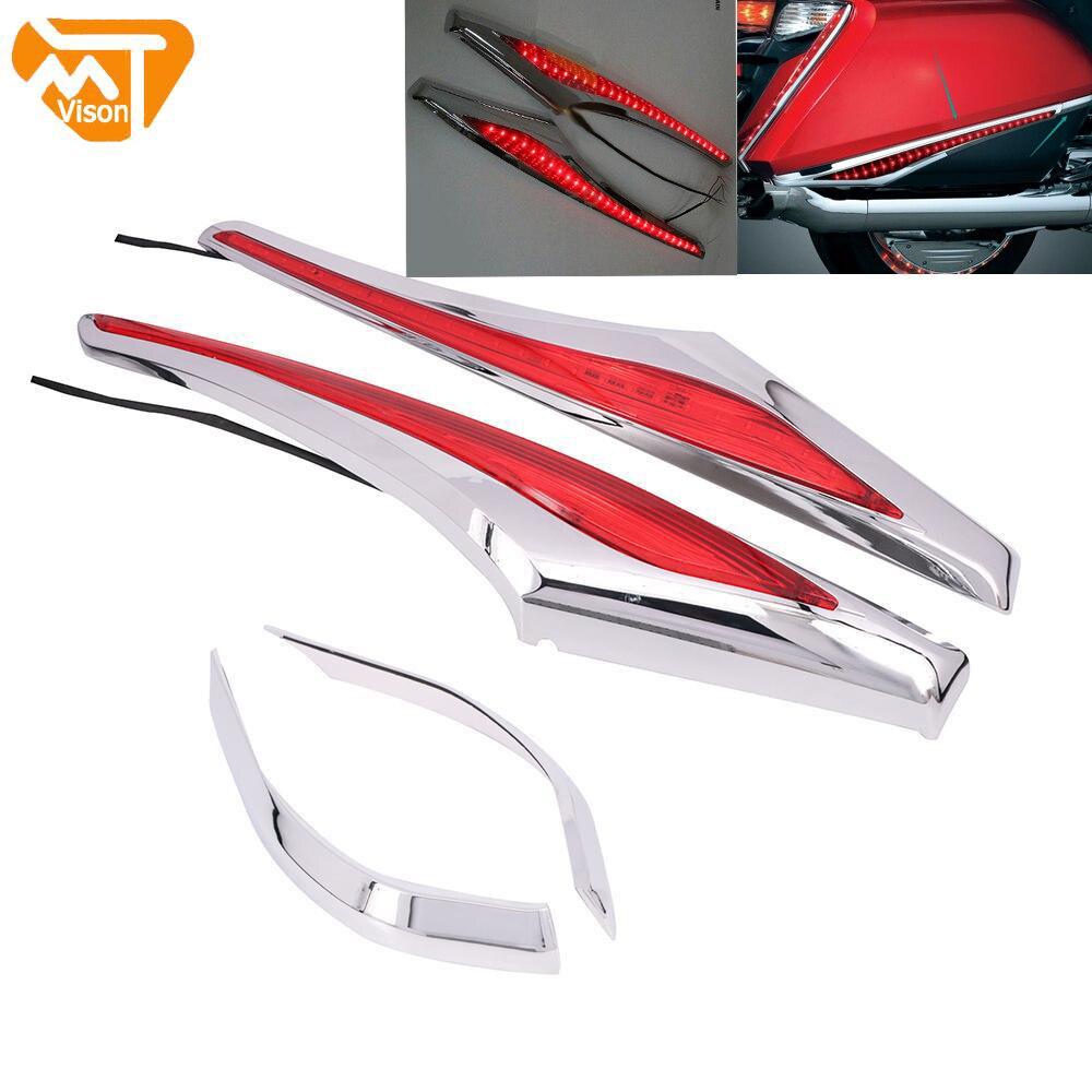 Sacoche de moto Accent Swoop | Étui pour Honda Goldwing GL1800 GL 1800 & F6B 12-15 2012 2013 2014 2015