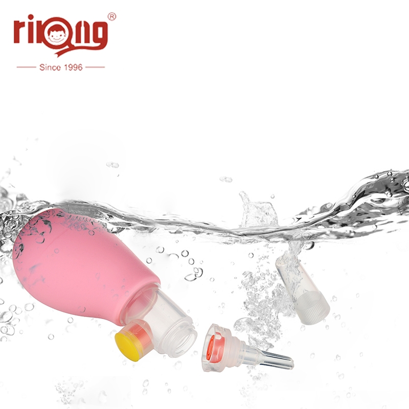 Nose-Cleaner Nasal-Aspirator Infant Baby Rikang Silicone Manual Anti-Backflow
