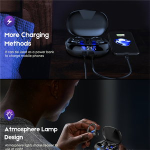 Image 5 - TWS Wireless Bluetooth 5.0 Earphone Running HiFi Stereo Headphones Sports Headset With Mic For IOS Android Mobiles