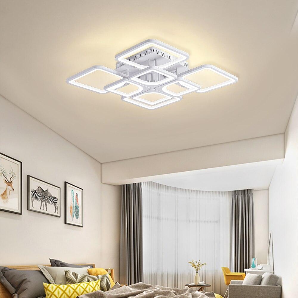 Iralan nova lâmpada do teto led para casa sala de estar quarto jantar moderna led dec luminária teto