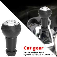 Car Manual Gear Shift Knob 5 Speed Good Quality Durable Direct Replacement for Peugeot 106 205 206 306 Auto Accessories(China)