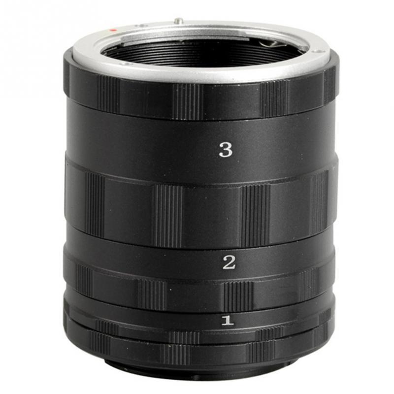Cameras Len Extension Tube Camera Macro Ring For Canon F Mount