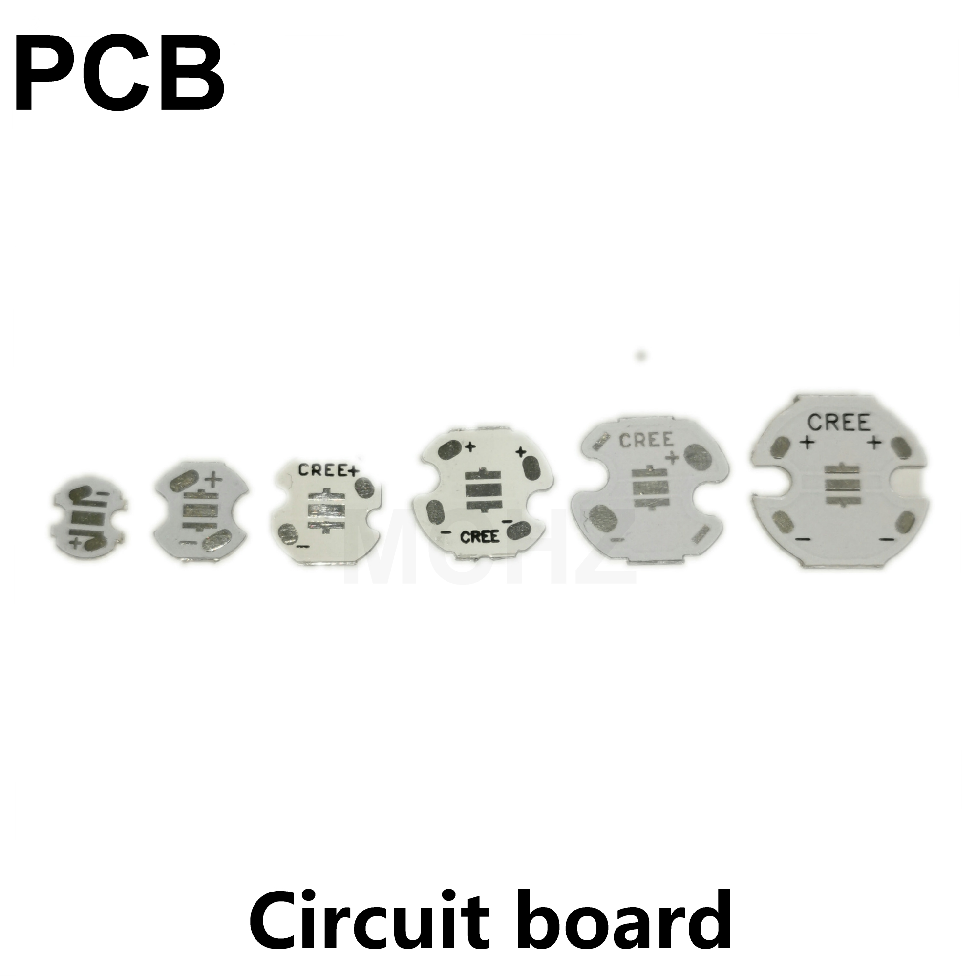 50pcs CREE 3535 5050 7070 ETI XTE XPG 20W LED Emitter Diode Can Replace Cree MKR MCE XHP50 XHP70 LED Light With 20mm PCB