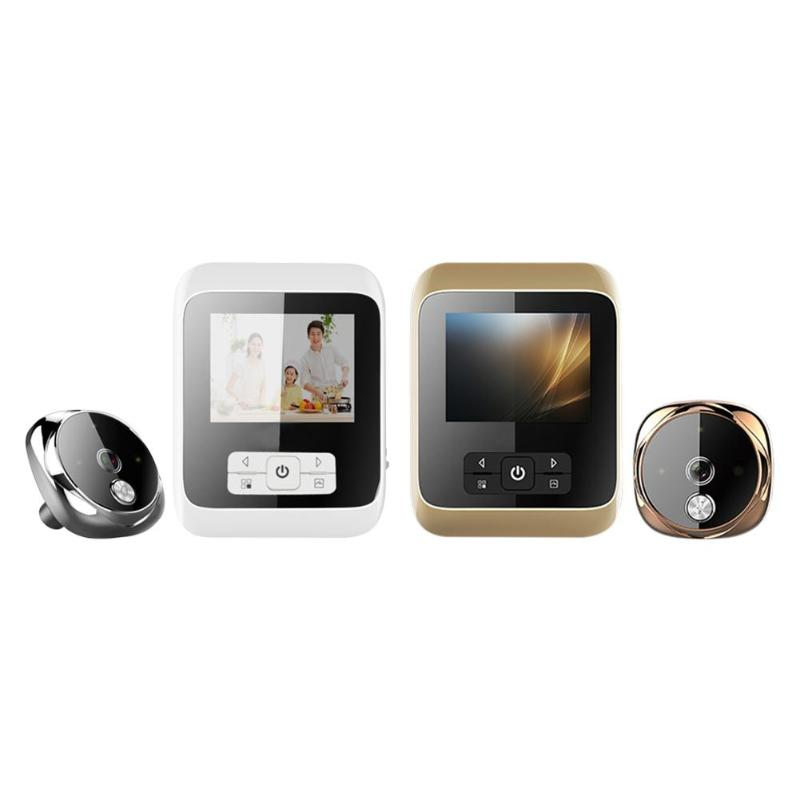 SF530 Wide Angle Smart Digital Doorbell PIR Night Vision 3.0 Inch TFT LCD Photographic Function 3MP Camera Door Eye Kit