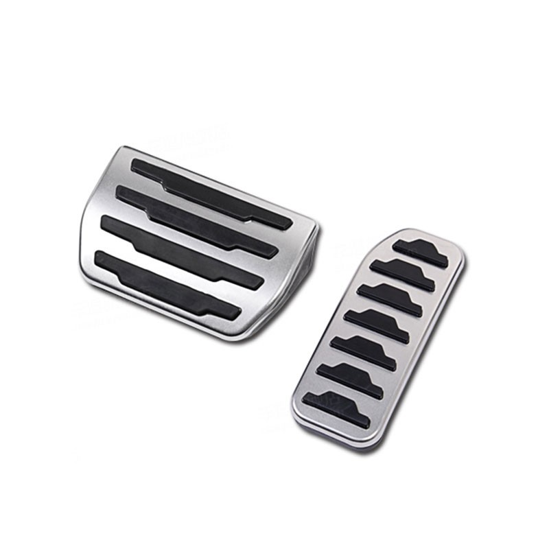 Stainless steel Accelerator Pedal trim For Range Rover Evoque 2012-2018