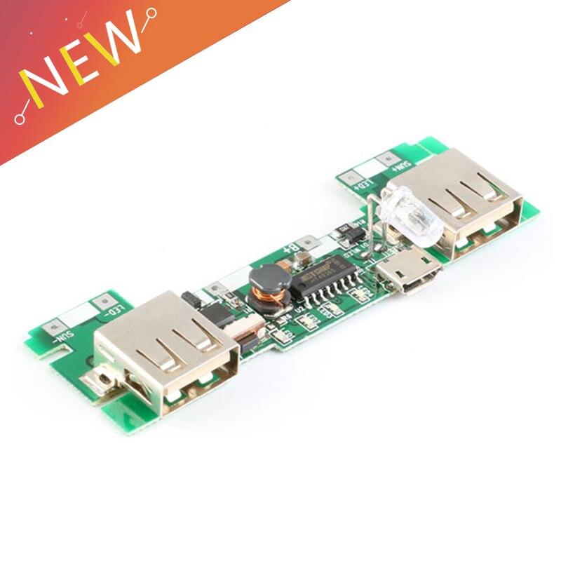 117.88руб. 30% СКИДКА|USB 5V 2A Мобильный блок питания зарядное устройство Модуль литий ионный 18650 батарея зарядная плата светодиодный индикатор новая версия|Бесперебойное электроснабжение| |  - AliExpress