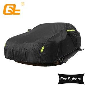 Image 1 - Universal Wasserdichte Volle Auto Abdeckungen Outdoor sun uv schutz staub regen schnee schutz für Subaru impreza wrx XZ BRZ