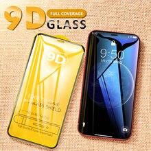 Изогнутое 9D полное покрытие закаленное стекло для iPhone 7 8X6 S 6 Plus протектор экрана для iPhone XS Max XR закаленное защитное стекло