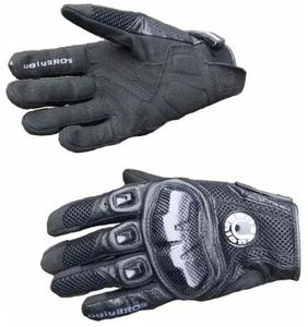 Image 5 - Free shipping UB 390 motorcycle gloves / racing gloves / carbon fiber gloves Genuine leather gloves 3color